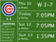 MLB Schedule gives you the upcoming schedule information and league standings for your favorite MLB Team.