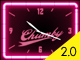 Retro style bar clock. Neon glows from 5pm to Midnight... if the neon's buzzin' go ahead and pour yourself a tall one.